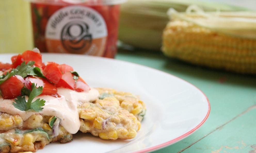 Jalapeño Corn & Cheese Fritters - Gluten Free