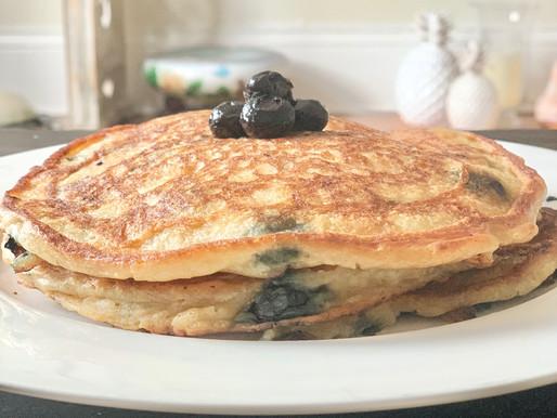 Blueberry Pancakes - Gluten Free
