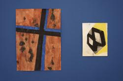 Croix bleue / 2 Losanges