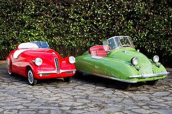 Volugrafo 1946 e Volpe 1947 Italia