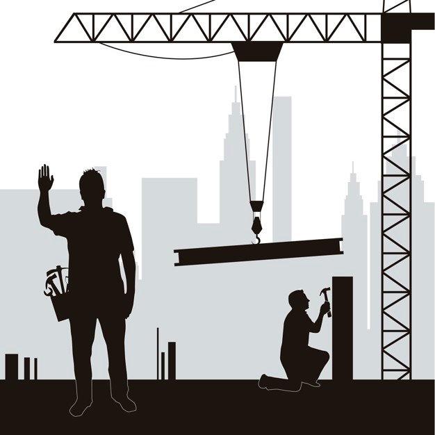 silhouette-men-working-construction-vect