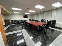 One of several conference rooms