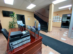 Downstairs Reception Area