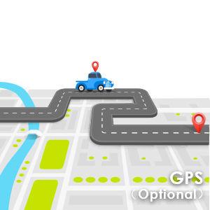 Optional GPS Function & Microphone