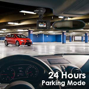 24hrs Motion Detection Parking Mode