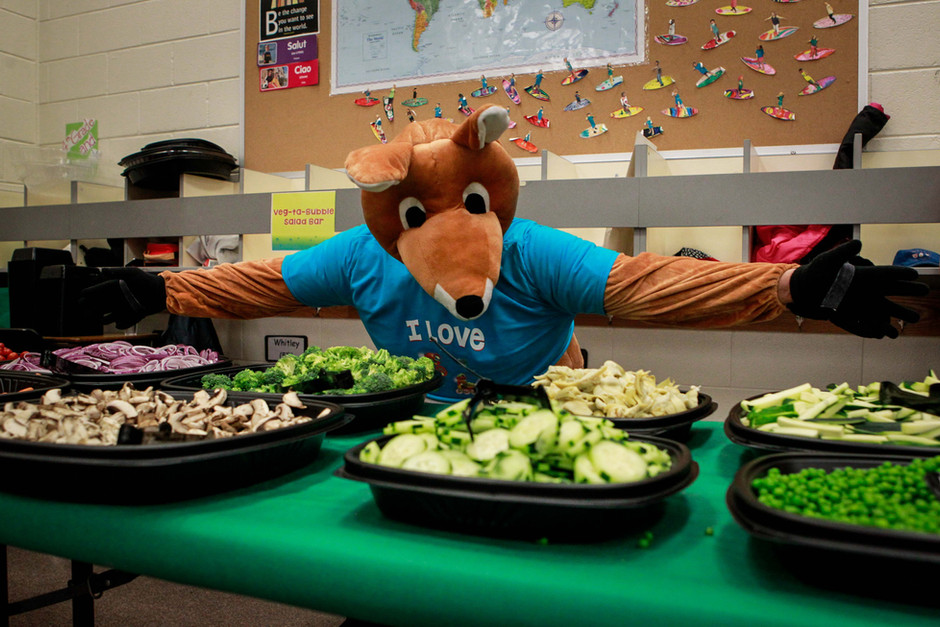 Health Day at Indian Ridge - Skippy the Super Roo & Veg-ta-Bubbles!