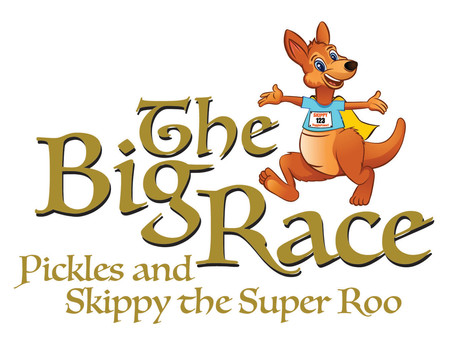 News Flash!! World Premiere of THE BIG RACE: Pickles and Skippy the Super Roo
