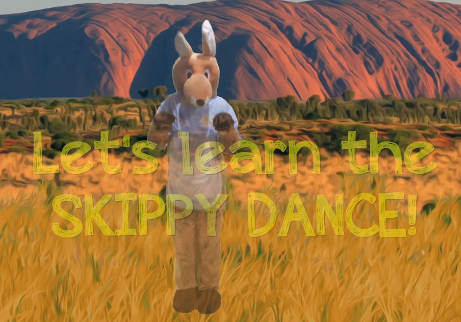 Learn the 'Skippy the Super Roo' Dance!!