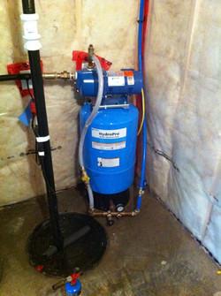Hunsingers pump and tank