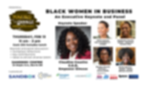 Black Women in Business Panel Feb 13 at