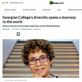 Michele Newton Diversity Column - Georgi
