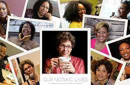 screen shot of Our Mosaic Lives content marketing websiteing