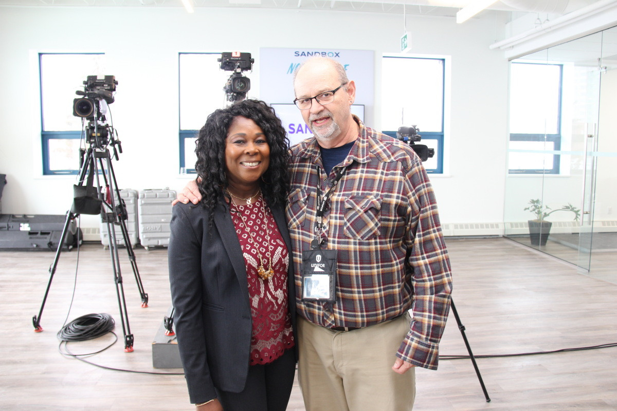 Claudine gives CTV interview