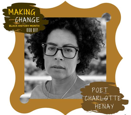 Poet Charlotte Henay presents at Making