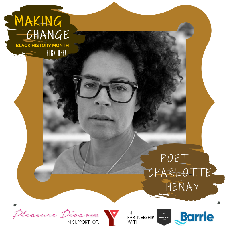 Poet Charlotte Henay presents at Making