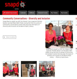 Snapd Barrie Community Conversations cov
