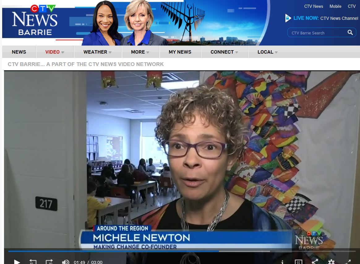 CTV Feb 7 Art Engagement Project Michele