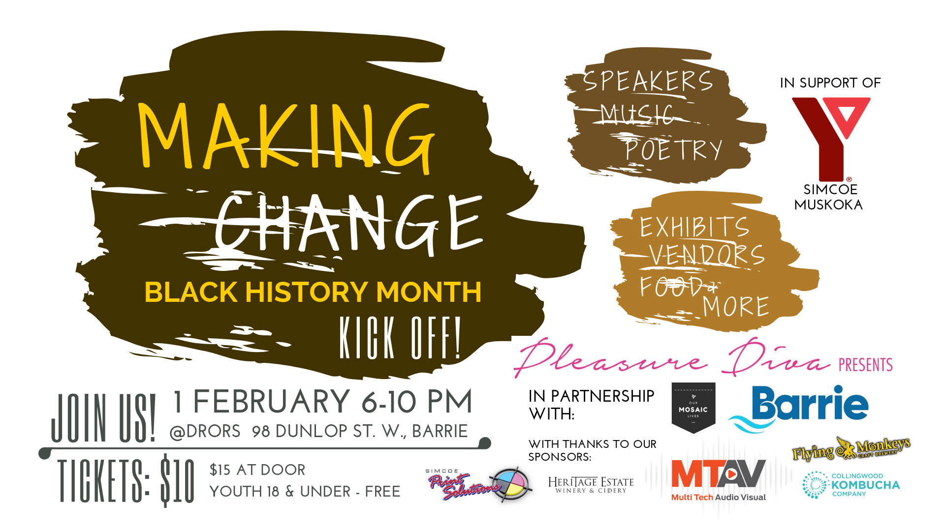 Making Change - Black History Month Kick