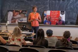 Michele Newton Speaker - Expert - Advocate for inclusion - guest Georgian College class Ju
