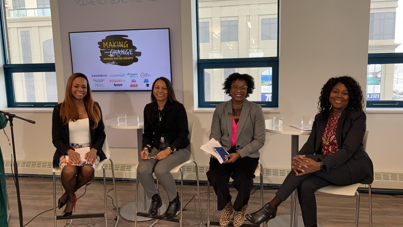 Panellists Making Change Voices of Black