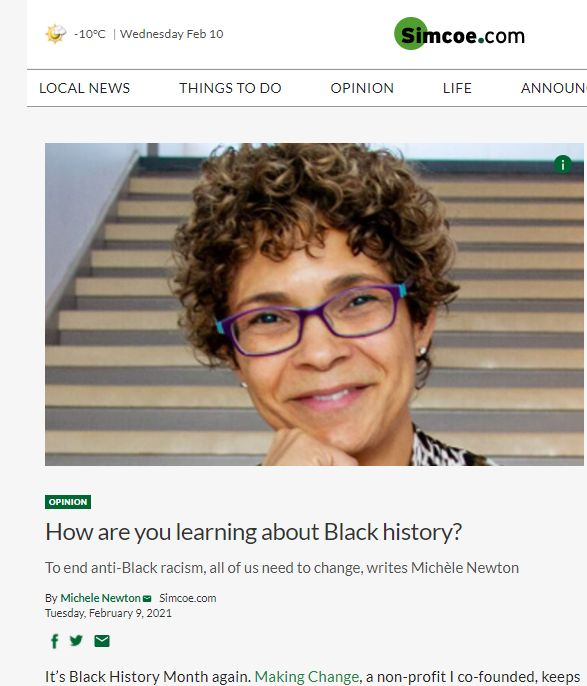 Black History Month Learning Feb 2021 Co