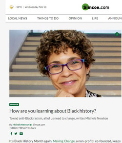 Black History Month Learning Feb 2021 Column Michele Newton Our Mosaic Lives