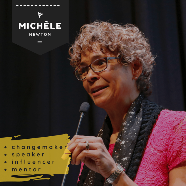 Michele Newton speaker Our Mosaic Lives.