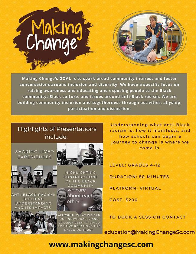 Making Change School Programs G4012 2021