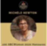 Michele Newton recognized as a 100ABC Wo