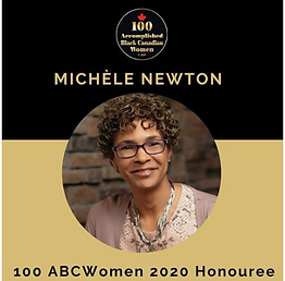 Michele Newton recognized as a 100ABC Wo