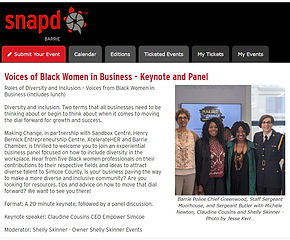 Making Change Voices of Black Women in Business Panel