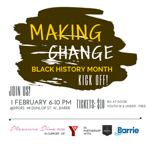 Making Change event logo from Our Mosaic Lives collaboration