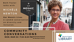 Community Conversations with Michele New