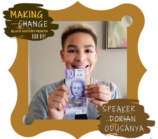 Speaker Dorian Odusanya presents at Maki