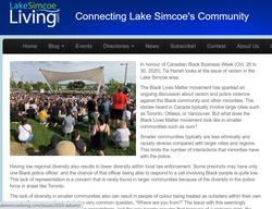 BLM Movement - Michele Newton in Lake Si