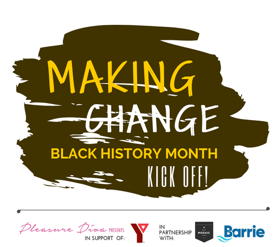 Making Change Black History Month Kick Off Event Barrie Feb 2019