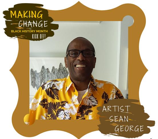 Artist Sean George exhibits at Making Ch