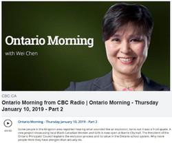 Ontario Morning Jan 10