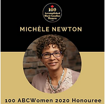 Michele Newton recognized as a 100ABC Woman 2020.PNG