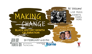 Making Change Black History Month Celebr