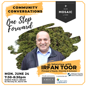 Irfan Toor joins Michele Newton for Community Conversation