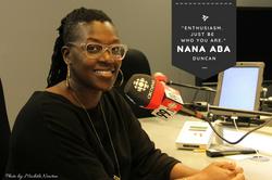 Nana aba Duncan for Our Mosaic Lives Celebrating Black Canadian Women