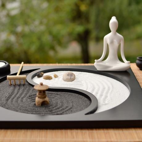 Cómo hacer un jardín zen en miniatura