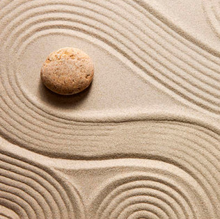 Decoración con arena