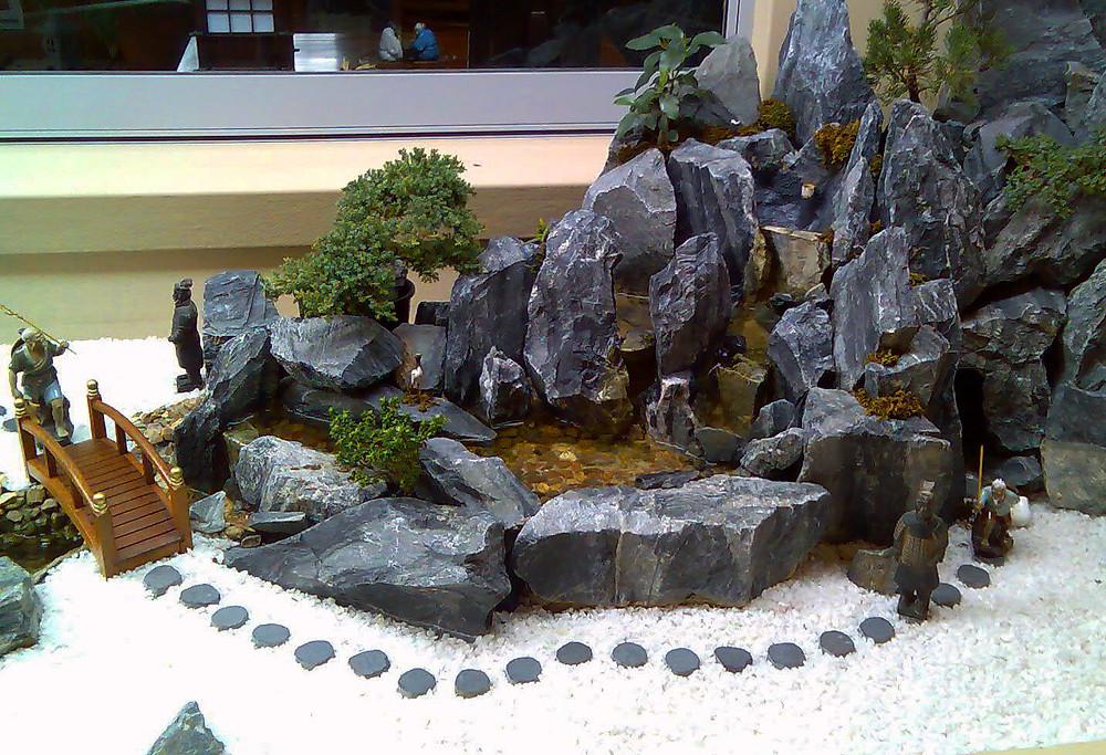 Jardines zen en miniatura: una historia en un jardín