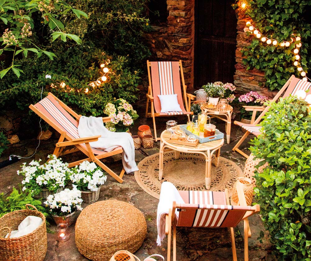 Ideas para montar un chill out en el jardín