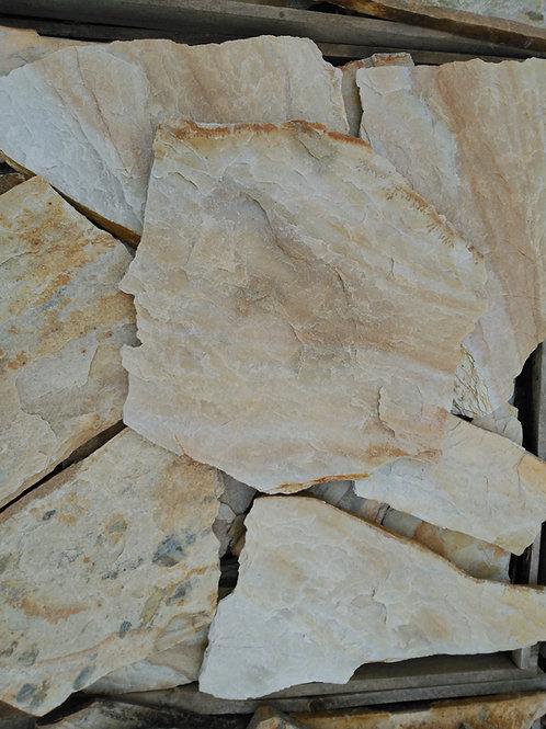 Piedra irregular marrón canadá