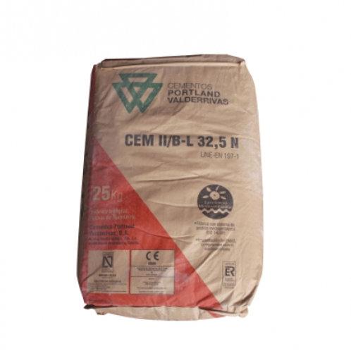 Cemento gris Portland Valderrivas 32.5