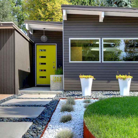 Ideas para decorar un jardín delantero