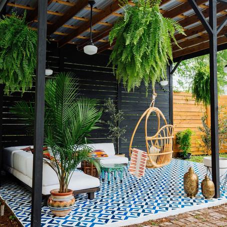 Ideas para montar un chill out en el jardín